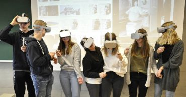 VR-Workshop der HAK Bezau an der FHV