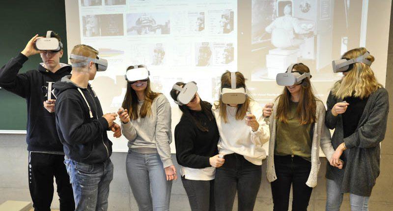 VR-Workshop der HAK Bezau an der FHV