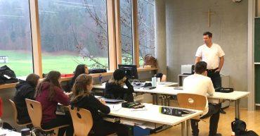 Vortrag von Christian Pellini in der 2. GASCHT Bezau