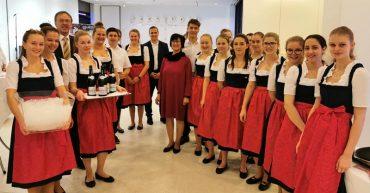 Praxiseinsatz der 4. HLT Bezau bei der ÖHV im Festspielhaus Bregenz